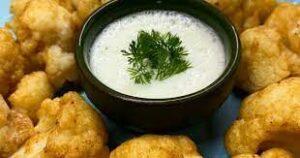 karnabahar dip sos